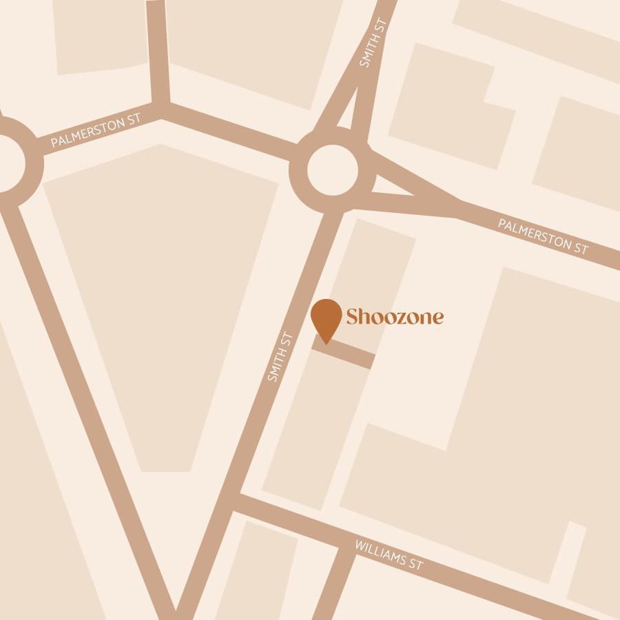 shoozone warragul location map